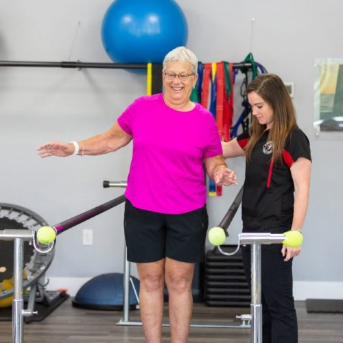 1st Rehab Physical Therapy Patient
